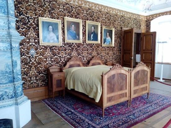 una camera da letto - Foto di Castel Wolfsthurn - Museo ...